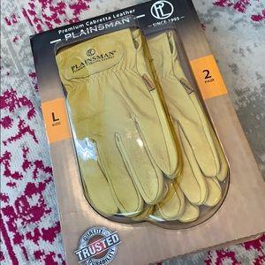 Plainsman Cabretta Leather Gloves 2 pair Size L
